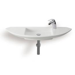 ROCA umywalka Mohave 110 cm z otworem na baterię po prawej stronie