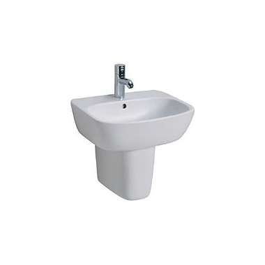 KOŁO Umywalka meblowa STYLE 55 cm, z otworem
