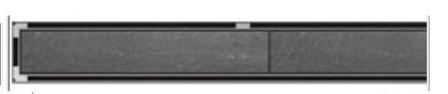 ACO odwodnienie prysznicowe h-65mm TILE L-685