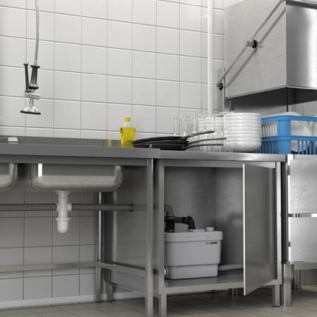 SFA SANISPEED Pompa przeznaczona do intensywnej pracy w obiektach gastronomicznych