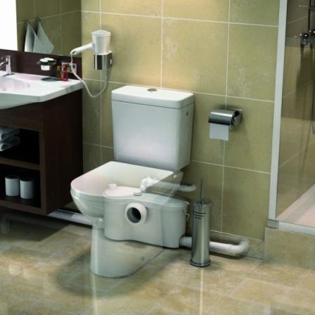 SFA SANIBEST Pro rozdrabniacz do WC