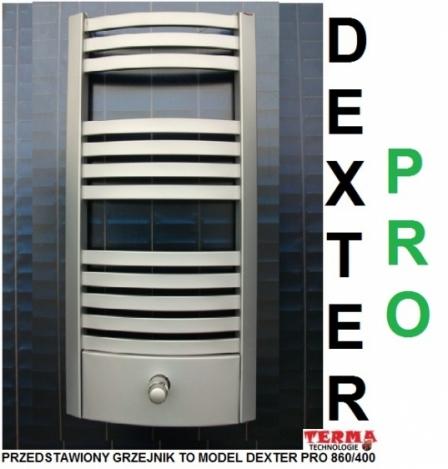TERMA TECHNOLOGIE DEXTER PRO 1220 X 400 SILVER MAT