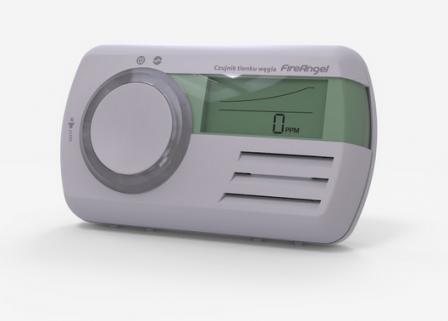 FireAngel-Czujnik tlenku węgla CO-9D