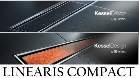 KESSEL LINEARIS COMPACT odpływ liniowy L - 850 mm