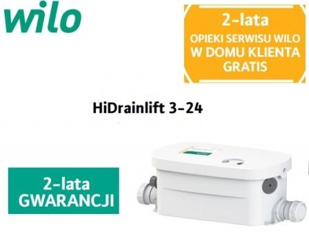 WILO HiDrainlift 3-24 pompa do wanny , prysznica , bidetu