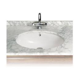 ROCA umywalka podblatowa Berna śr. 56 x 42 cm BIAŁ