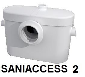 SFA ROZDRABNIACZ DO WC + UMYWALKI SANIACCESS 2