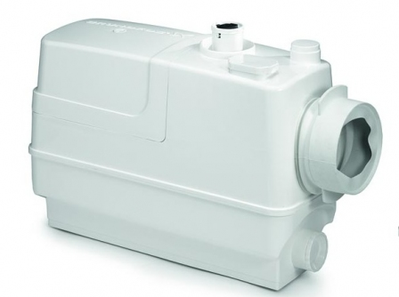 GRUNDFOS SOLOLIFT2 CWC-3 pompa rozdrabniająca do naściennej miski wc + umywalka + natrysk + bidet + pisuar