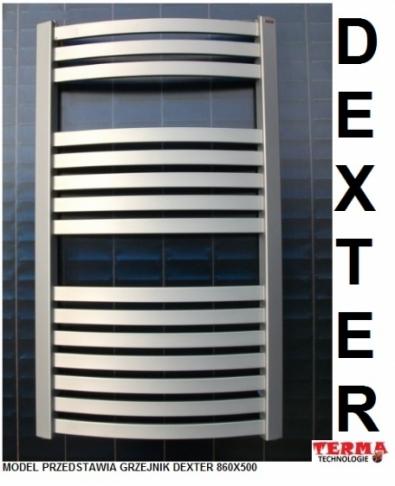 TERMA TECHNOLOGIE DEXTER 1220 X 400 SILVER MAT.