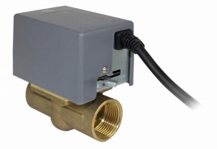 SALUS PMV21/PMV24 Zawór dwudrogowy 1\'\'/3/4\'\' z napędem elektrycznym i wyłącznikiem krańcowym