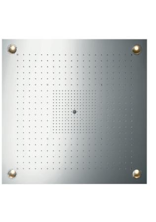 Axor Starck ShowerHeaven 970x970 mm DN20 z oświetleniem stal szlachetna