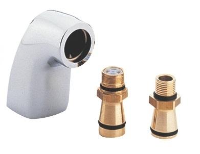 GROHE CHIARA PRZYŁĄCZE SZTORCOWE , WYSIĘG 70 mm DN15 CHROM
